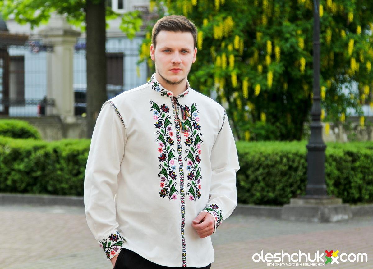 Вишиті сорочки ручної роботи від Галини Олещук 9a3ddc665cf0f
