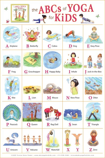 The ABC of Yoga for KIDS, книга