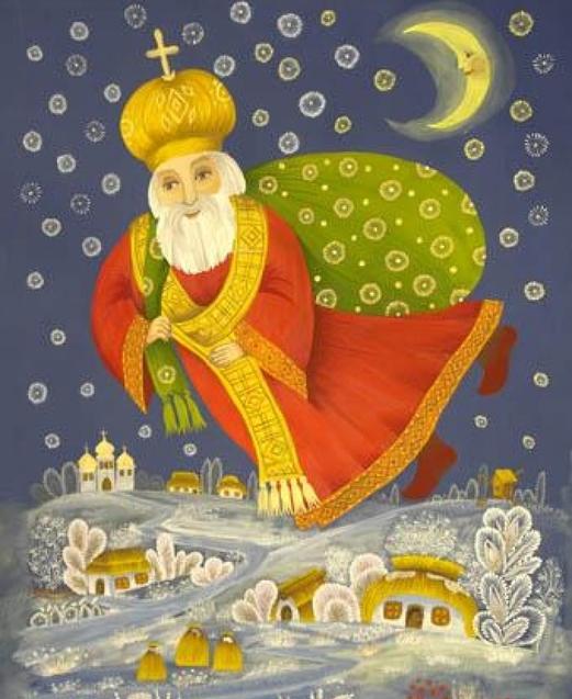 Святий Миколай традиції Україна
