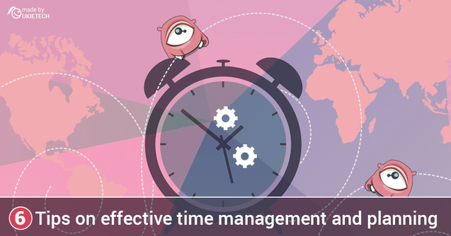 Effective time management and planning