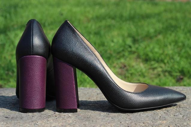 Gem Shoes, туфлі з широким каблуком