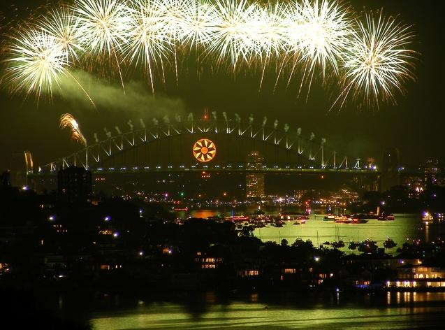 Новий рік Австралія