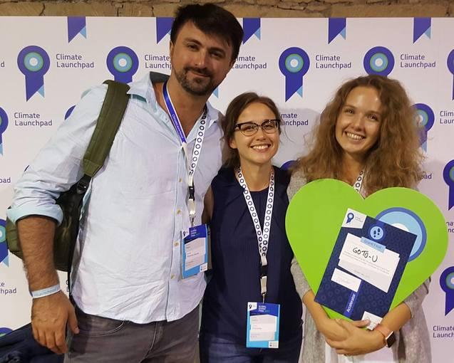 Український проект Go To-U увійшов в десятку найкращих на міжнародному конкурсі Climate Launchpad 1/1