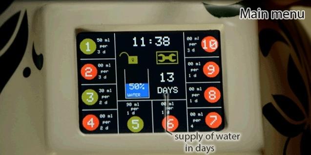 Українець Володимир Малего розробив розумний пристрій GreeNanny для індивідуального догляду за 10 рослинами одночасно 1/1