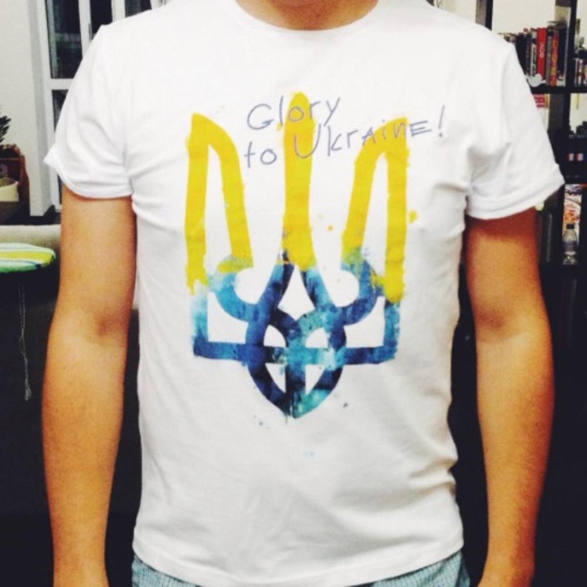 Tsukor Tsukor - футболки з патріотичною символікою 20fb5cc42b6d8