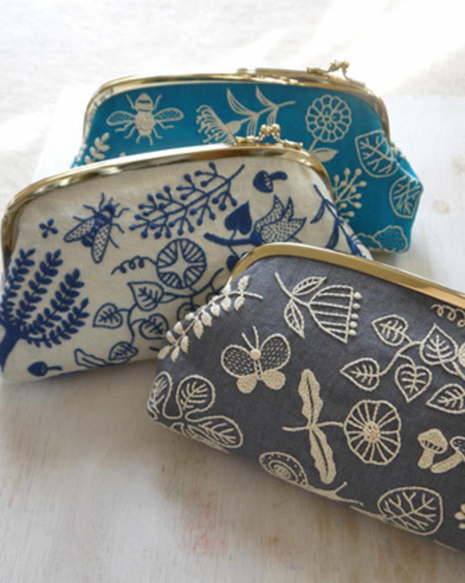 Сумки с вышивкой лентами Модные сумки 2018 99