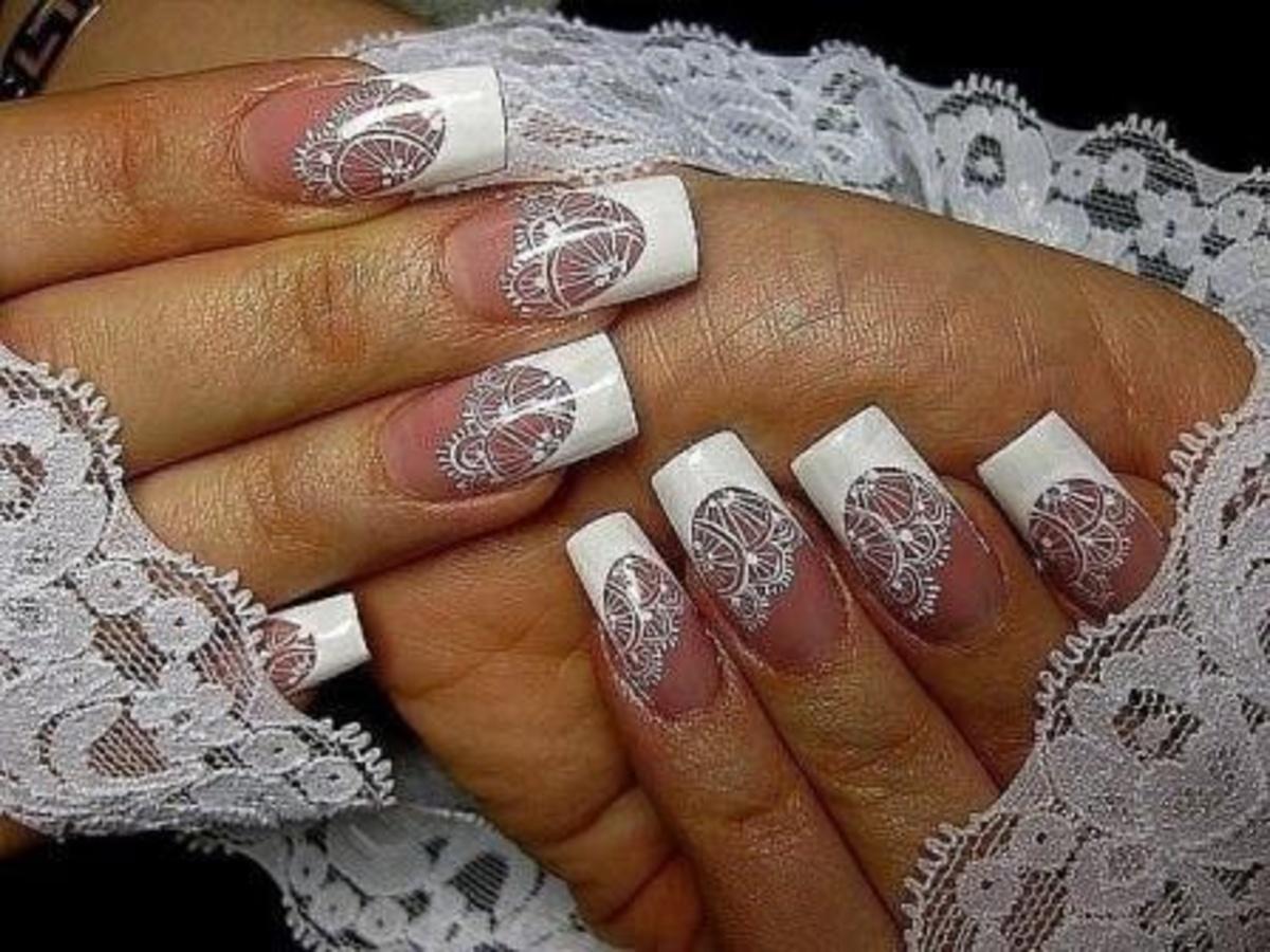 Идеи для свадебного маникюра