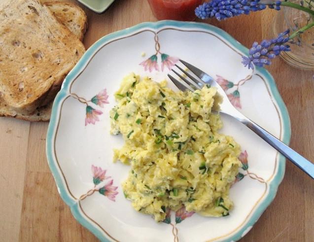 яєчня з капустою