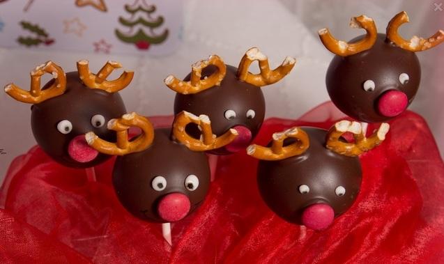 новорічний десерт Олені