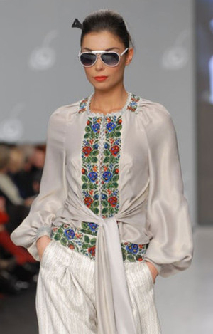 Designers Embroidered Shirt (Vyshyvanka)