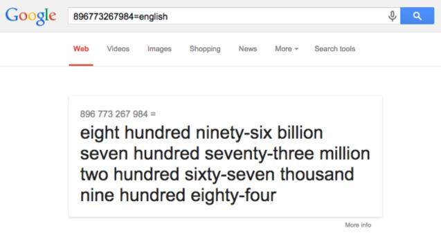 як вимовляються великі числа англійською