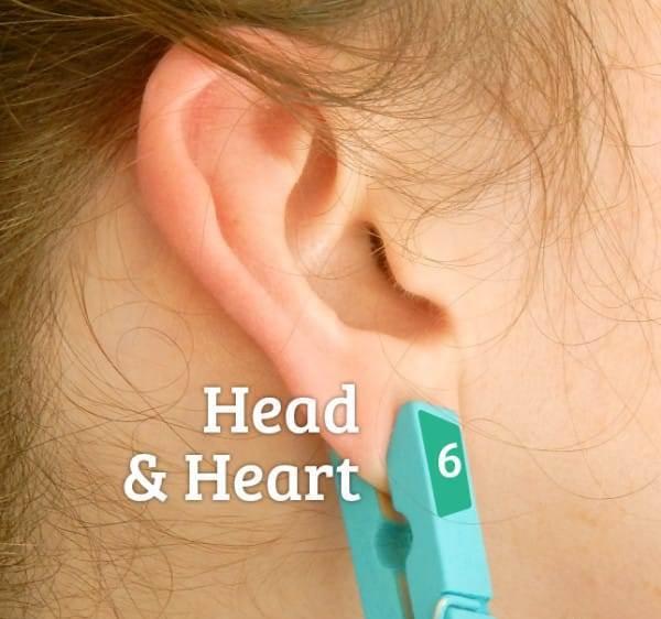 Рефлексологія, голова і серце