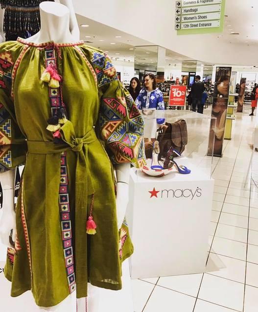 Українский бренд Foberini представлено у Вашингтонському Macy`s 1/1