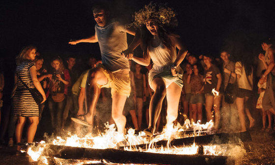 Ukrainian Traditions: The Ivanna Kupala Night  2/2