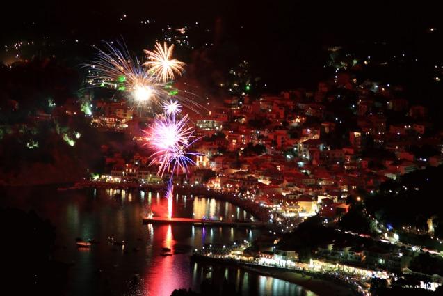 Новий рік Греція фото
