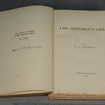 Коханець леді Чаттерлей, книга