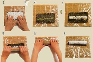 приготування суші фото