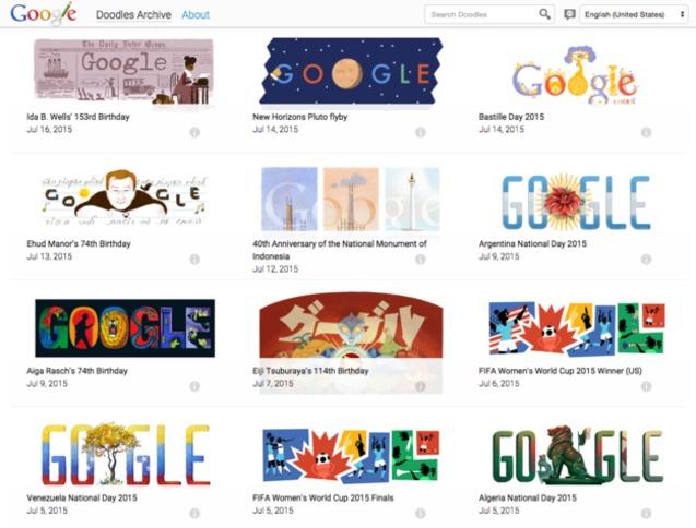 google дудли