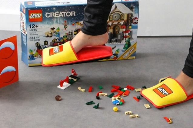 Lego, капці