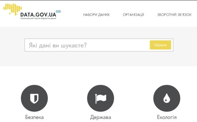 видкриті українські бази даних
