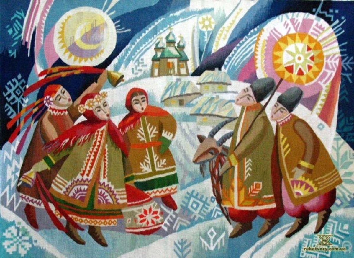 Strange Ukrainian holiday traditions