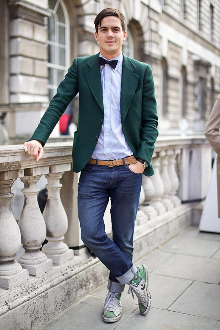 Как красиво одеться парню