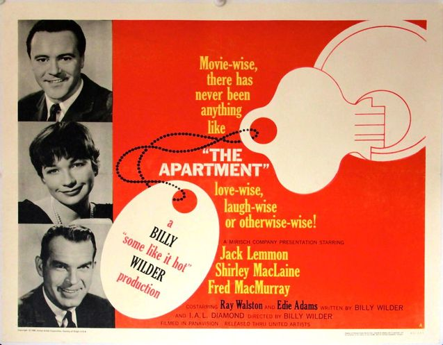 Квартира (The Apartment, 1960)