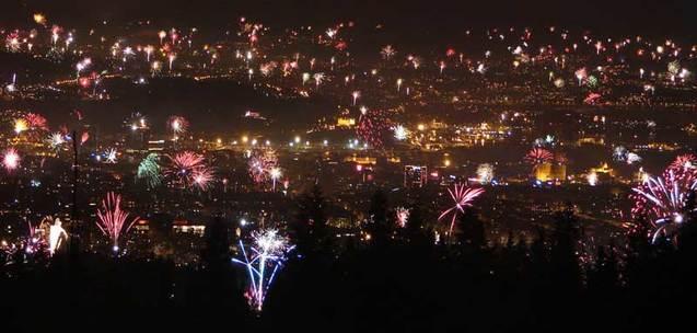 Новий рік норвегія фото