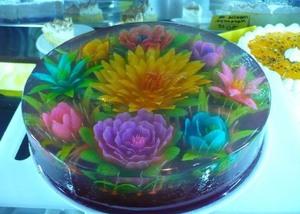 Желатинові квіти
