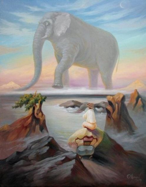 Наполеон і слон, Олег Шупляк