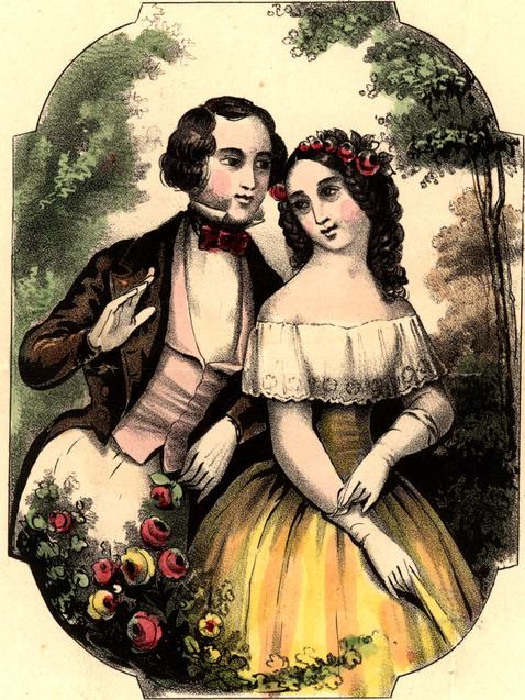 День Валентина закохана пара