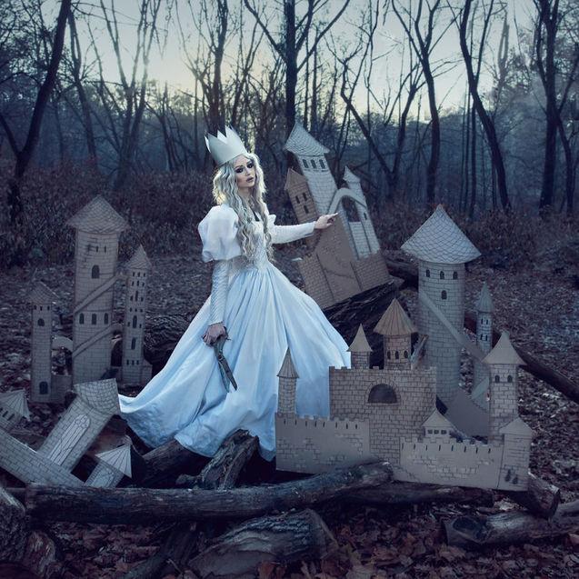 Червона ворона, Фальшива принцеса