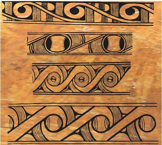 трипільська культура, орнаменти