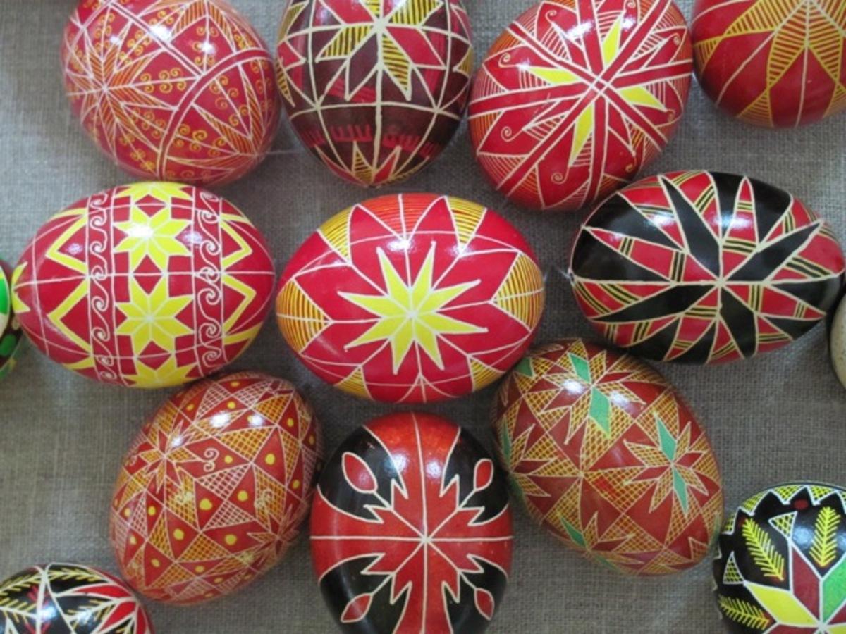 Особливості українських писанок в різних регіонах України