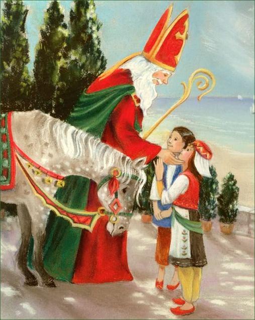 Святий Миколай діти