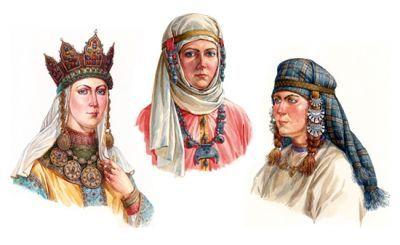 давньоруська вишивка