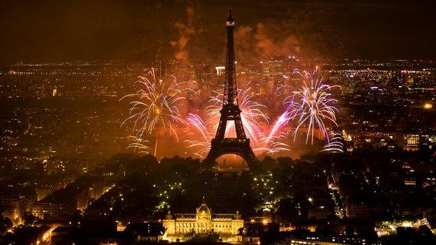 Новий рік Франція Париж
