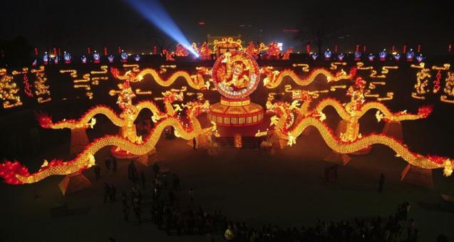 новий рік Китай