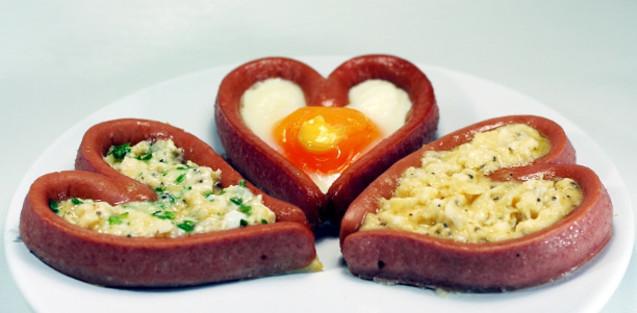 яєчня у сердечках