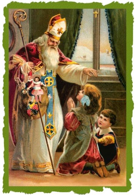 Святий Миколай діти подарунки