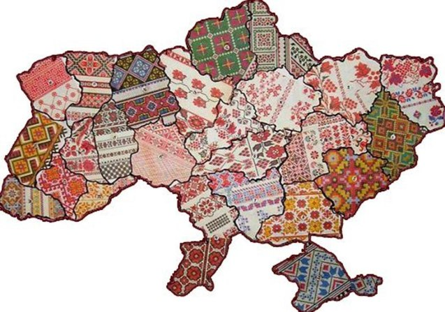 Ukrainian traditional embroidery