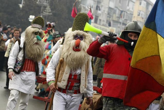Новий рік Румунія