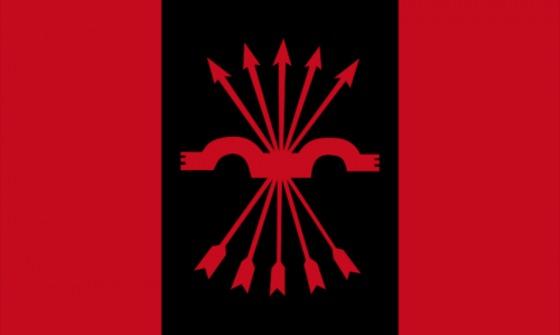червоно-чорний прапор походження