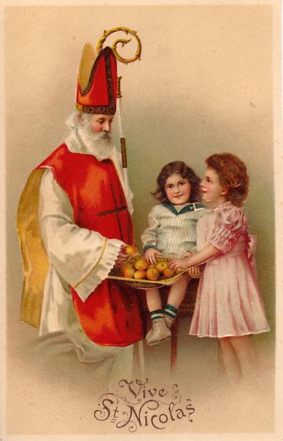 Миколай діти свято