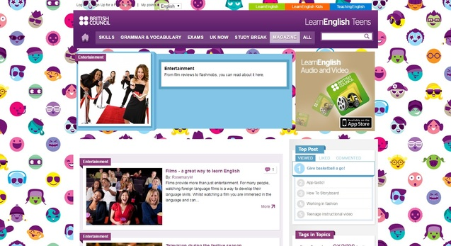 LearnEnglish Teens Entertainment