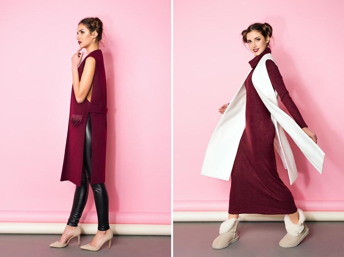 Стильний і теплий зимовий одяг від українських брендів  Kogutovska ... c589b517cbf52