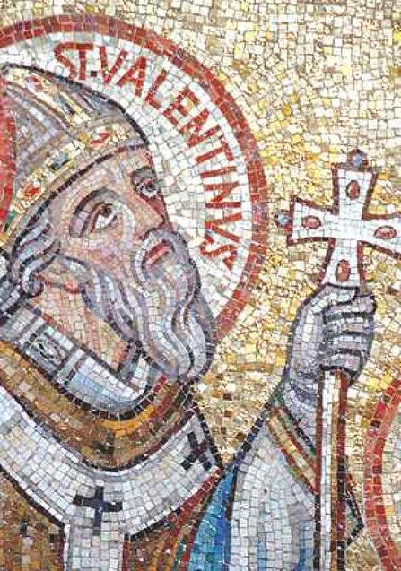 Святий Валентин мозаїка