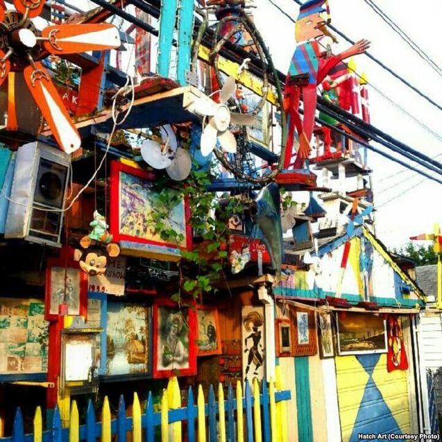 Діснейленд від українця Дмитра Шиляка став однією з найвідоміших туристичних місцин Детройта 1/1