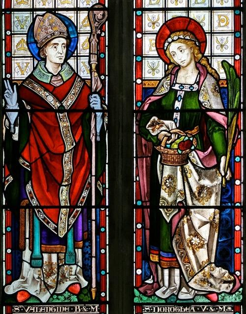 Святий Валентин і Свята Доротея