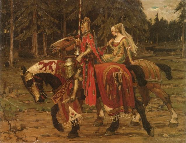 Лицар і його дама серця